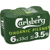 Öl 3,5% Ekologisk 33cl 6-p Carlsberg