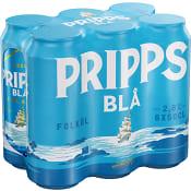 Öl 2,8% 50cl 6-p Pripps Blå