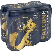 Öl Extra Brew 3,5% 50cl 6-p Falcon