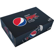 Läsk Pepsi Max Burk 33cl 24-p
