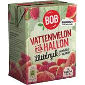 Lättdryck Vattenmelon & hallon Koncentrat 2dl BOB