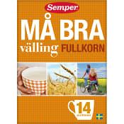 Må Bra välling Fullkorn 14-p 450g Semper