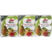 Äpple & pärondryck Från 1 år 3-p 600ml KRAV Semper