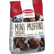 Muffins mini choklad Glutenfri 185g Semper