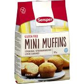 Minimuffins Citronsmak Glutenfri 185g Semper