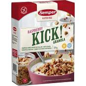 Kick Raspberry Glutenfri 375g Semper