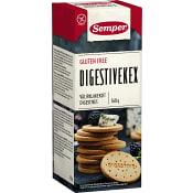 Digestivekex Glutenfri 160g Semper