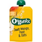 Mellanmål Barn Organix Mango päron & granola 6mån Ekologisk 100g Semper