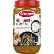 Stroganoff m biff & ris 1år 235g Semper