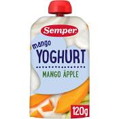 Yoghurt Mango Från 1 år 120g Semper
