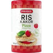 Riskakor med Pizzasmak 125g Friggs