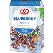 Müsli Blueberry 575g AXA