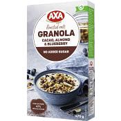 Granola Cacao & Almond 475g Axa