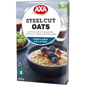 Havregrynsgröt Steel Cut Oats 550g AXA