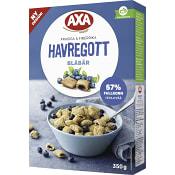 Flingor Havregott Blåbär 350g AXA