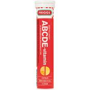 ABCDE vitamin Citrus Brustablett Kosttillskott 20-p 1000mg  Friggs