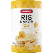 Riskakor med Ostsmak 125g Friggs