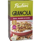 Granola Kanel mandel & äpple 450g Paulúns