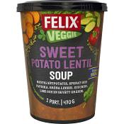 Färdigmat Soppa Potatis & linser 470g Felix