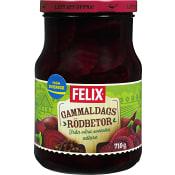 Gammaldags Rödbetor 710g Felix
