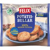 Potatisbullar Fryst 810g Felix