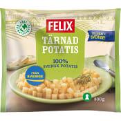 Tärnad potatis Fryst 800g Felix