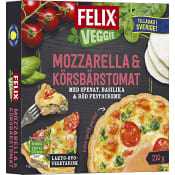 Paj Veggie Mozzarella Körsbärstomat 210g Felix