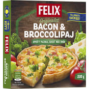Bacon & broccolipaj Fryst 220g Felix