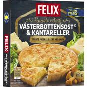 Ostpaj västerbottenost & kantareller Fryst 210g Felix