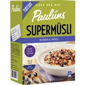 Supermüsli Blåbär  & vanilj 420g Paulúns