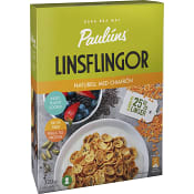 Flingor Linsflingor Naturell med chiafrö 320g Pauluns