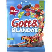 Gott & blandat Favorit mix 190g Malaco