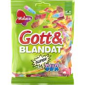 Gott & blandat Supersur 170g Malaco