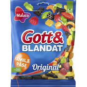 Original Gott & blandat 400g Malaco