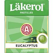 Halstabletter Eucalyptus 25g Sockerfri Läkerol