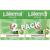 Halstabletter Eucalyptus 2-p Sockerfri 50g Läkerol