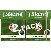 Halstabletter Original 2-p Sockerfri 50g Läkerol