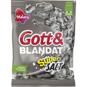 Gott & blandat Supersalt 170g Malaco