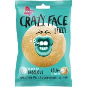 Godis Crazy face Fizzy 80g Malaco