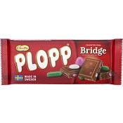 Plopp Chokladkaka Bridge 75g Cloetta