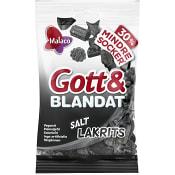 Gott & Blandat Saltlakrits 110g Malaco