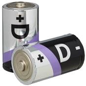 Batteri D LR20 2-p ICA Home