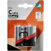 Batteri C LR14 2-p ICA Home