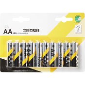 Batteri AA LR6 10-p ICA Home