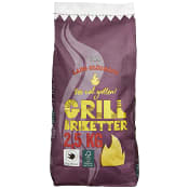 Briketter 2,5kg ICA Cook & Eat