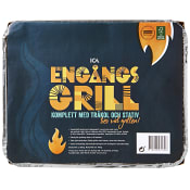 Engångsgrill 600g ICA Cook & Eat