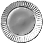 Engångstallrik Saga Silver 26cm 8-p ICA Cook & Eat