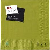 Servett Ärtgrön 33cm 20-p ICA