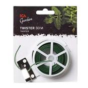 Twister med avbitare Grön 30m ICA Garden