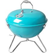 Bärbar grill Turkos 37cm ICA Cook & Eat